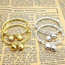silver plated adjustable bracelet images Buy gold baby boy bracelet and get free shipping on jpg