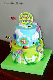 salt cake city spring garden themed flower cake