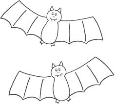 best halloween bat coloring pages free 5097 printable coloringace com