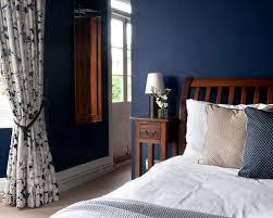 Dark Blue Bedroom Houzz - Dark blue bedroom design