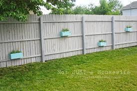 backyard fence ideas home decorating garden design metal fencing