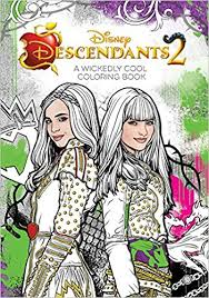 amazon descendants 2 wickedly cool coloring book art