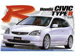 2001 honda civic type r 1 24 la ep3 honda civic type r 2001 by fujimi hobbylink