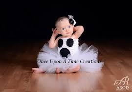 ready to ship not so scary ghost tutu dress black white