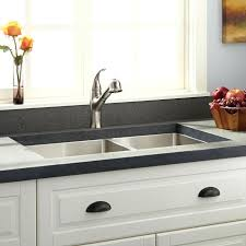 Kitchen Faucet Placement 60 40 Kitchen Sink Bloomingcactus Me