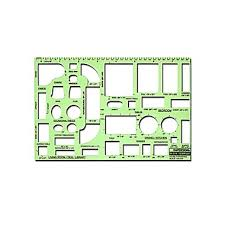 Interior Design Drafting Templates by Rapidesign Interior Drafting And Design Templates House Furnishing