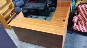 Height Of Reception Desk Pre Owned Reception Desk