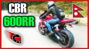 buy cbr 600 riding cbr 600rr in the streets of kathmandu sports bike ride