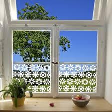 stickers fenetre cuisine stickers vitre fleurs scandinaves d comme deco