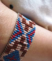 bead bracelet styles images Native american traditional style inspired beaded bracelet your choice jpeg