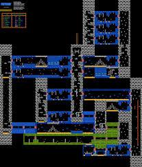 Metroid 2 Map Mini Boss Hideout I Nintendo Nes Map