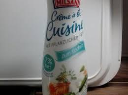 a la cuisine milfina crème à la cuisine 7 fett kalorien neue produkte fddb