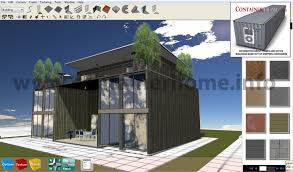 3D ISBU Shipping Container Home Design Software Shipping
