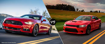 2016 Cobra Mustang 2016 Ford Mustang Vs 2016 Dodge Charger