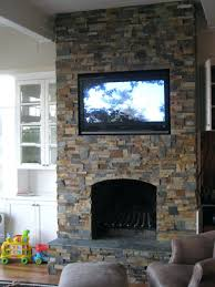 stacked stone fireplace design fake pictures faux stacked stone