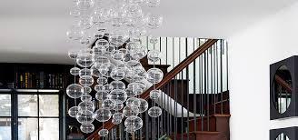Diy Glass Bubble Chandelier Glass Ball Chandelier Idea Central Cb2 Blog