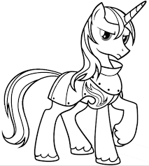 my little pony princess cadance coloring coloring page my little