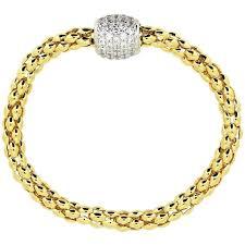 magnetic gold bracelet images Pave magnetic bracelet yellow gold plated on sterling silver jpg