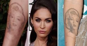 megan fox is removing tattoo of idol with mental illness