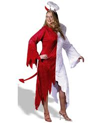 halloween angel costumes devil naughty and nice angel costume halloween costumes
