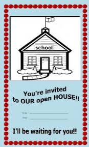 Open House Invitations Worksheet Open House Invitation