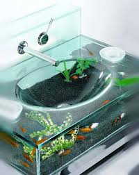 bathroom unique clear bathroom aquarium bathroom sink design