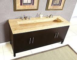 60 inch double bathroom vanity ranger modern double ramp sink