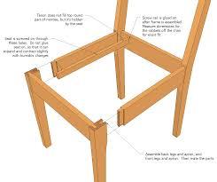 kitchen chair plans plans diy free download free garage workshop