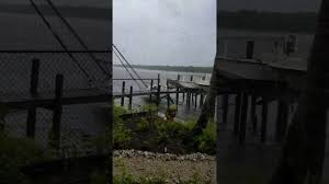 irma damage fort myers beach and getting worse youtube