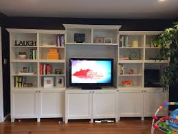Esszimmer Quoka Ikea Besta Built In Bookshelves Plus Added Crown Molding Ikea