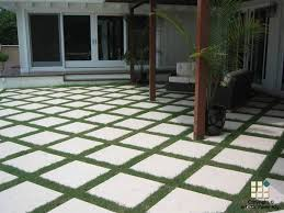 How To Paver Patio Patio Area With Monkey Grass Between Pavers For The Home