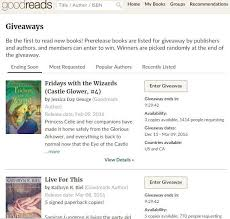 creating a goodreads giveaway to promote your book melusine