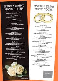 wedding bar menu template 5 bar menu templates procedure template sle