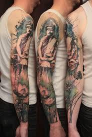 Buddhist Flower Tattoo - best 25 buddha sleeve tattoo ideas on pinterest tattoo po