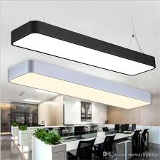 Ceiling Lights For Office Hanging Wire Aluminum Ceiling L Office Bar Lights Rectangular