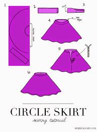 easy diy circle skirt tutorial aol lifestyle