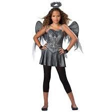 Angel Halloween Costume Kids Tween Dark Angel Costume Kids Walmart