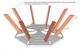 octagon picnic table lawn furniture pinterest octagon picnic