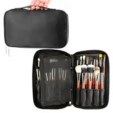professional makeup carrier samtour professional cosmetic makeup brush