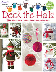 55 balls to knit colorful festive ornaments tree