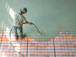 radiant heat flooring thermal mass floor heating underlayment