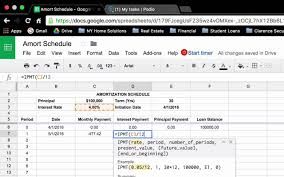 Amortization Calculator Spreadsheet How To Create A Loan Amortization Schedule In Google Sheets Ms