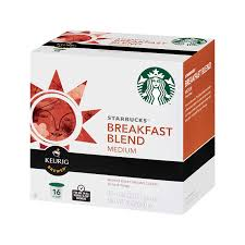 Blend K Cups Block Code 120920 Starbucks Breakfast Blend K Cups 16 Count