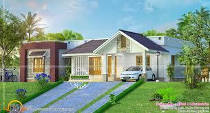 front sloping lot house plans hillside home plan kerala design floor plans house plans 78225