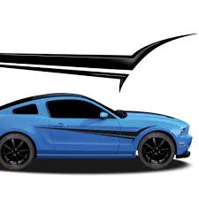 mustang decals viper automotive vinyl graphics and decals kit shown on ford
