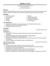 Telemarketing Resume Job Description by Telemarketing Executive Resume Sample Telemarketing Resume Perfect