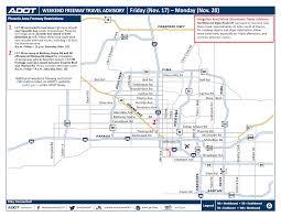 Arizona travel time to work images Adot weekend freeway travel advisory nov 17 20 png