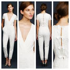 white wedding jumpsuit a caldwell events bridal fashion trends