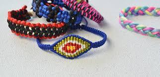 thread bracelet diy images How to make ethnic braided friendship bracelet with nylon thread jpg