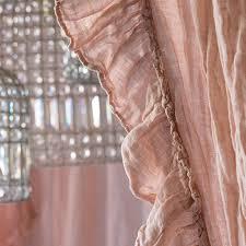 bella notte linens linen whisper ruffled curtain luxury